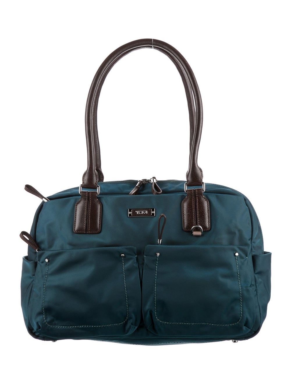 Tumi Nylon Shoulder Bag Blue - image 1