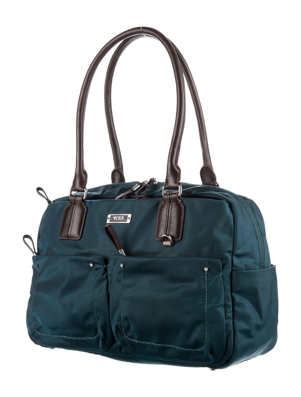 Tumi Nylon Shoulder Bag Blue - image 3