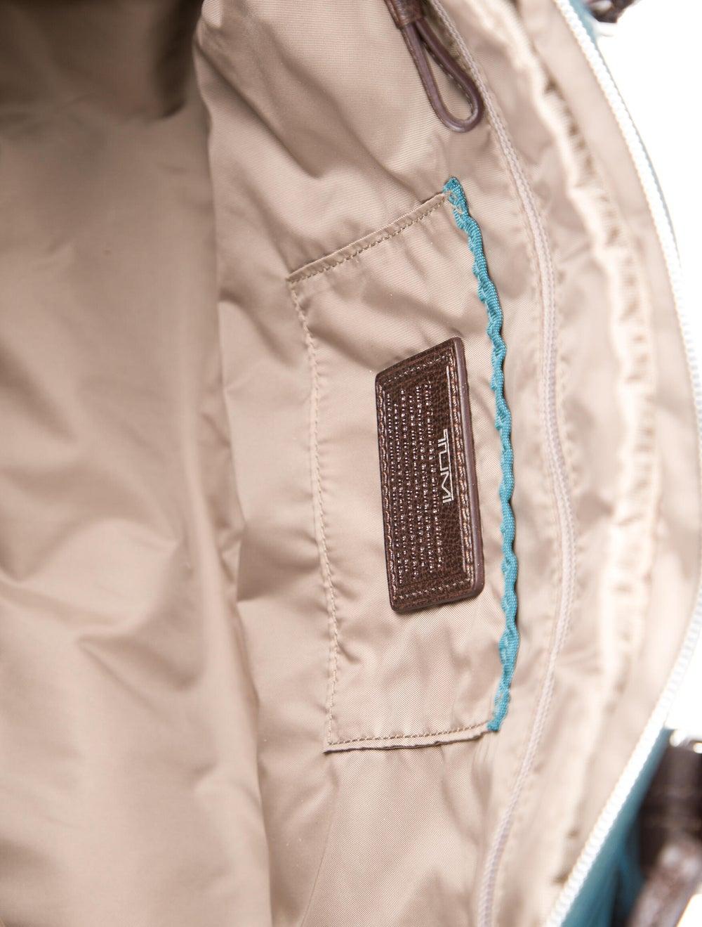 Tumi Nylon Shoulder Bag Blue - image 5