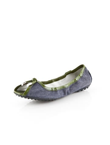Peep-Toe Flats