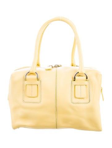 Tod's Mini Leather Handle Bag