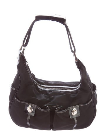 Tod's Leather-Trimmed Hobo None