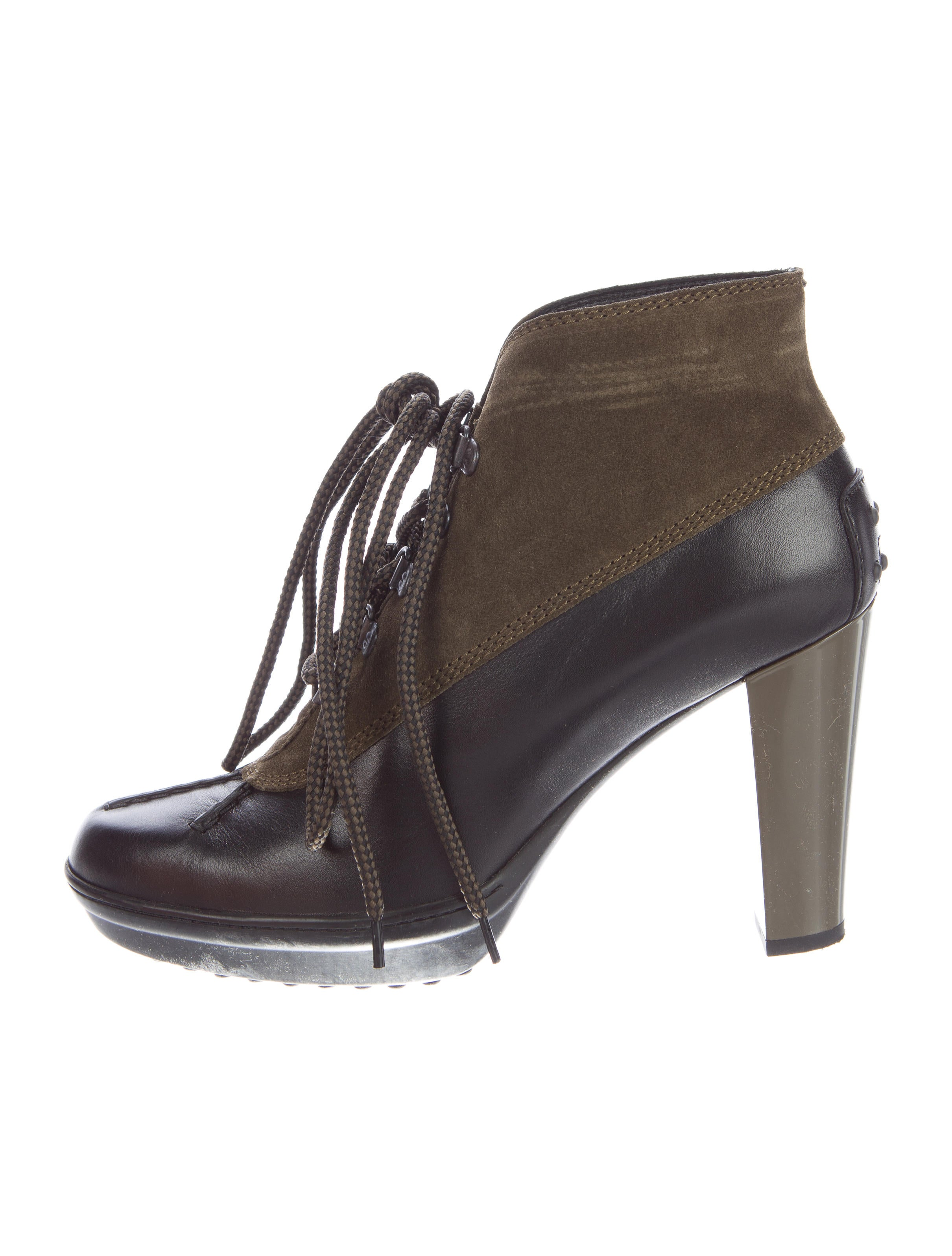 Todu0026#39;s Lace-Up Ankle Boots - Shoes - TOD35598 | The RealReal