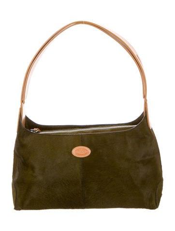 Tod's Ponyhair Shoulder Bag