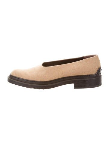 tod s canvas toe loafers shoes tod35750 the
