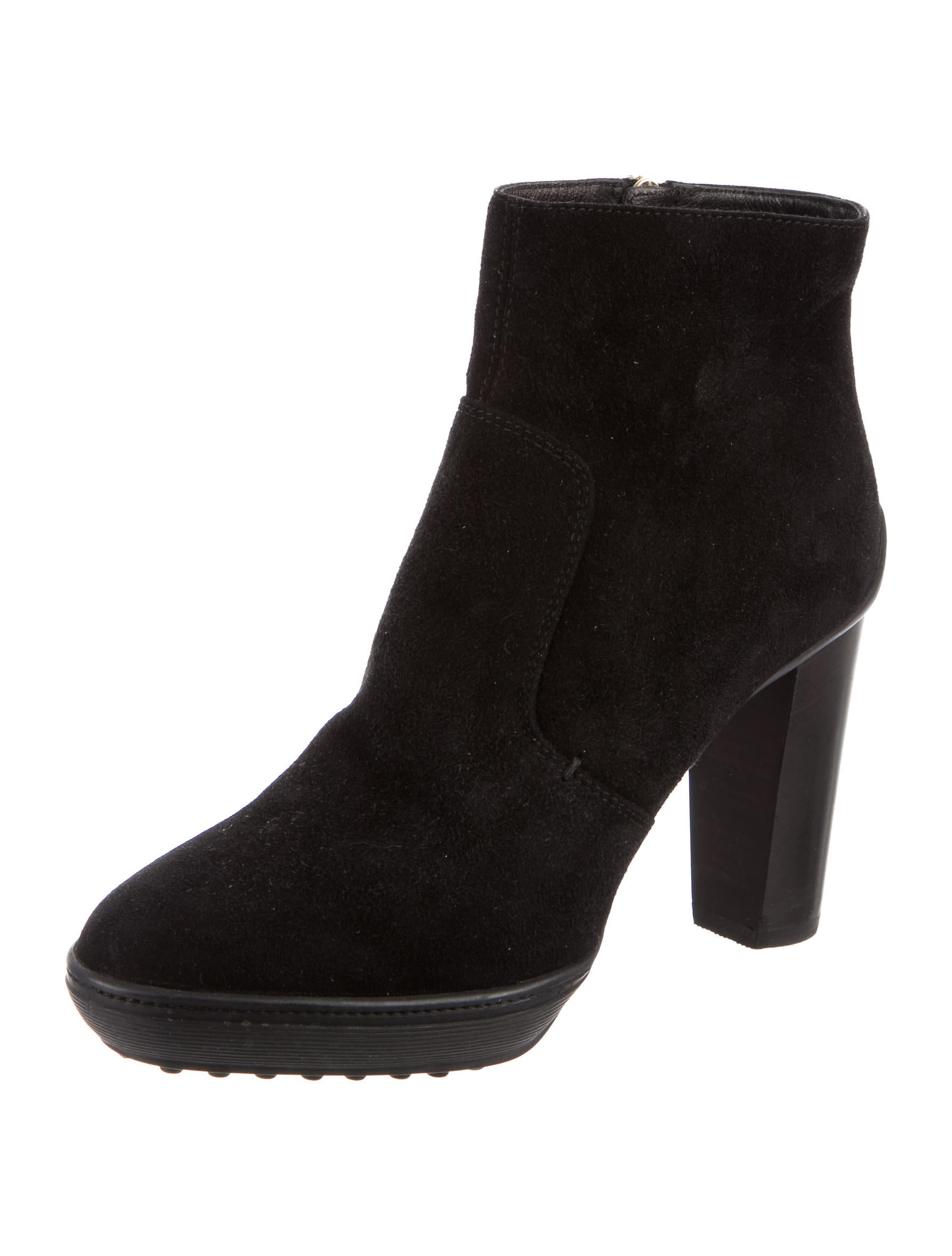 tod s suede platform ankle boots shoes tod37182 the