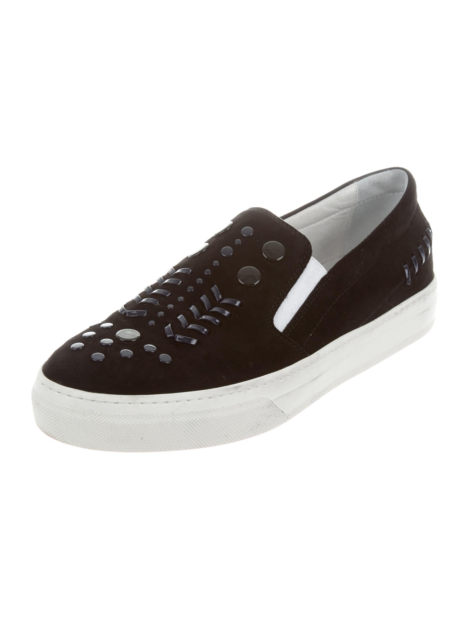 tod s suede slip on sneakers shoes tod37459 the realreal