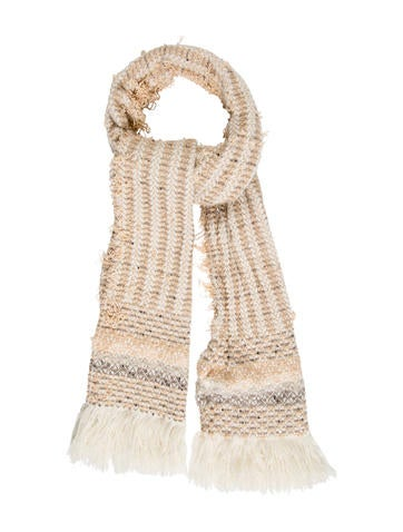 Tod's Wool & Cashmere-Blend Scarf None
