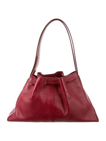 Tod's Leather Hobo None