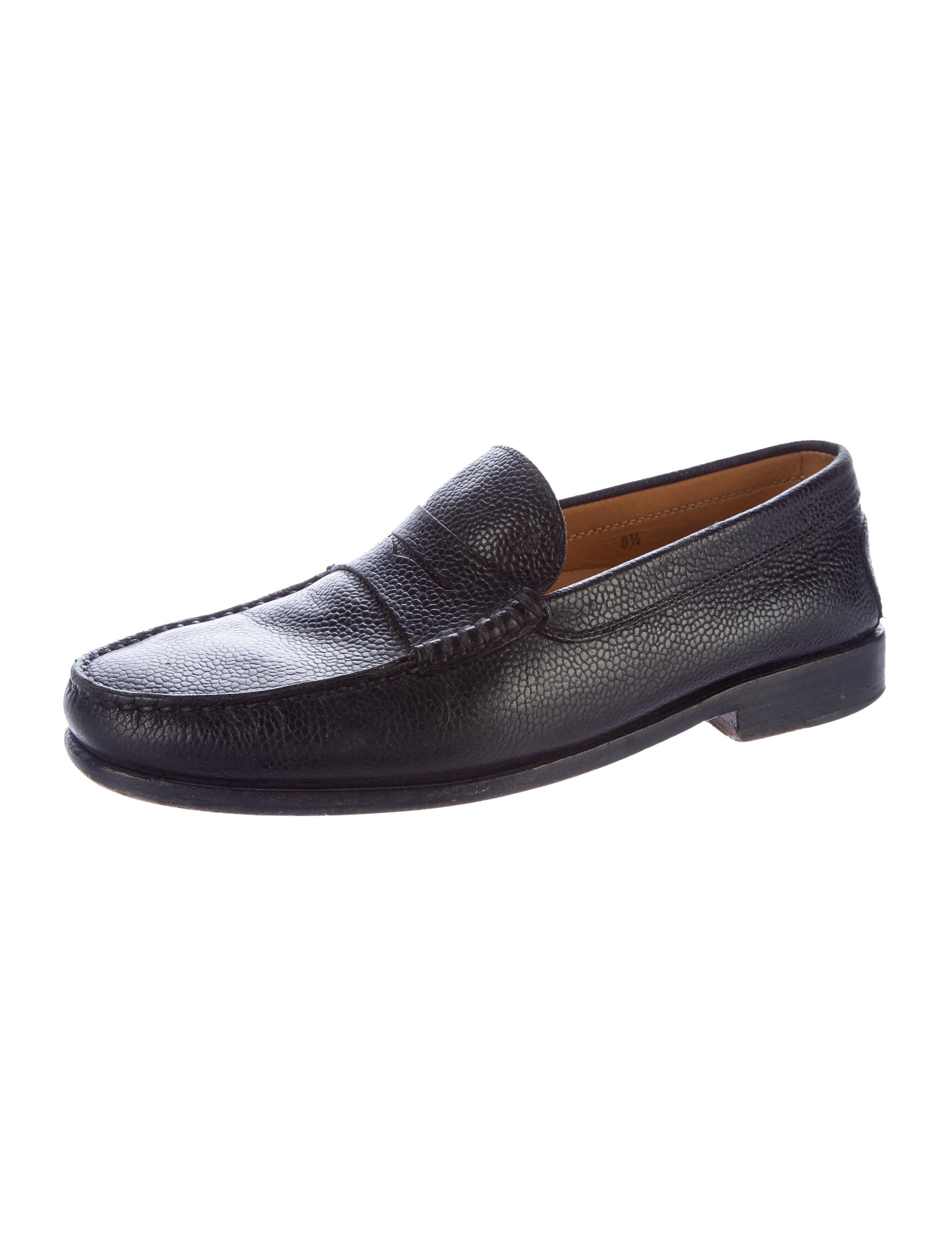 tod s leather dress loafers shoes tod39429 the realreal