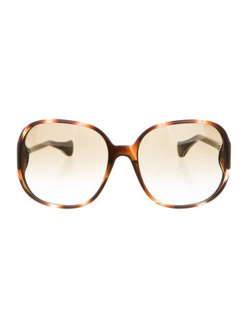 Tod's Marble Oversize Sunglasses None