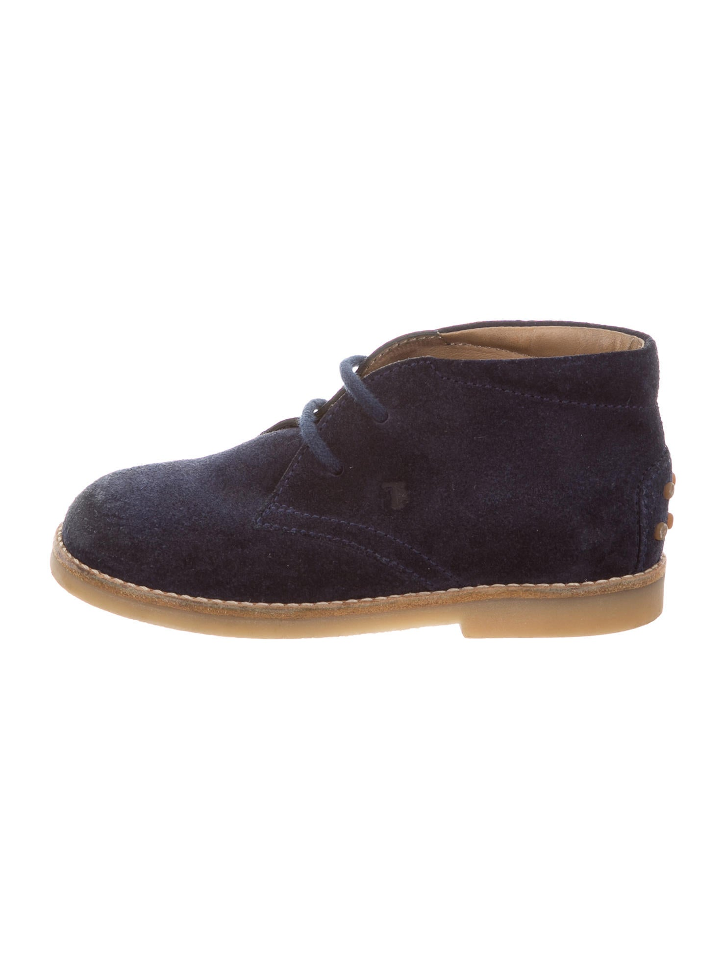 tod 39 s boys 39 suede desert boots boys tod41973 the realreal. Black Bedroom Furniture Sets. Home Design Ideas