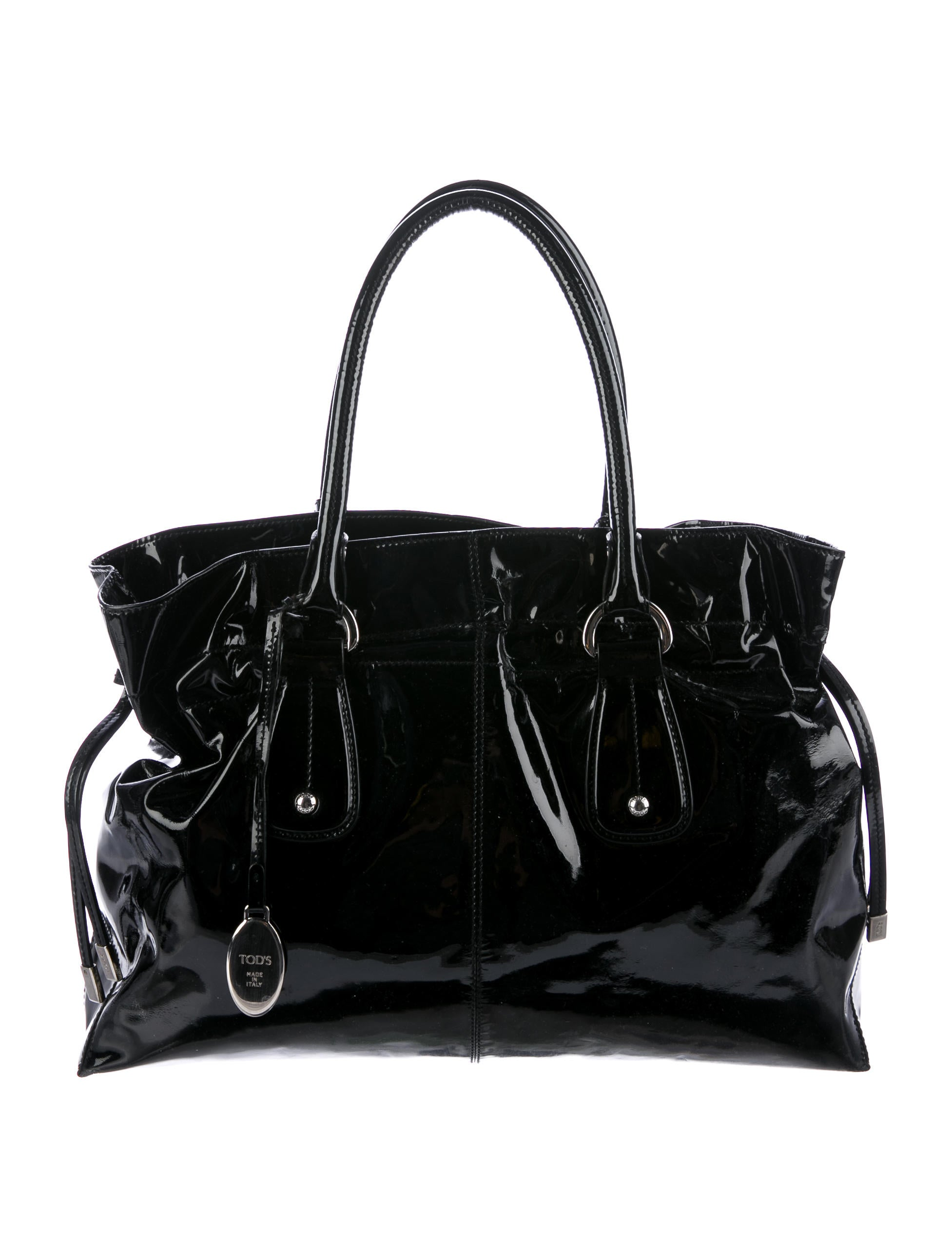 Tod S Patent Leather Tote Bag Handbags Tod43013 The
