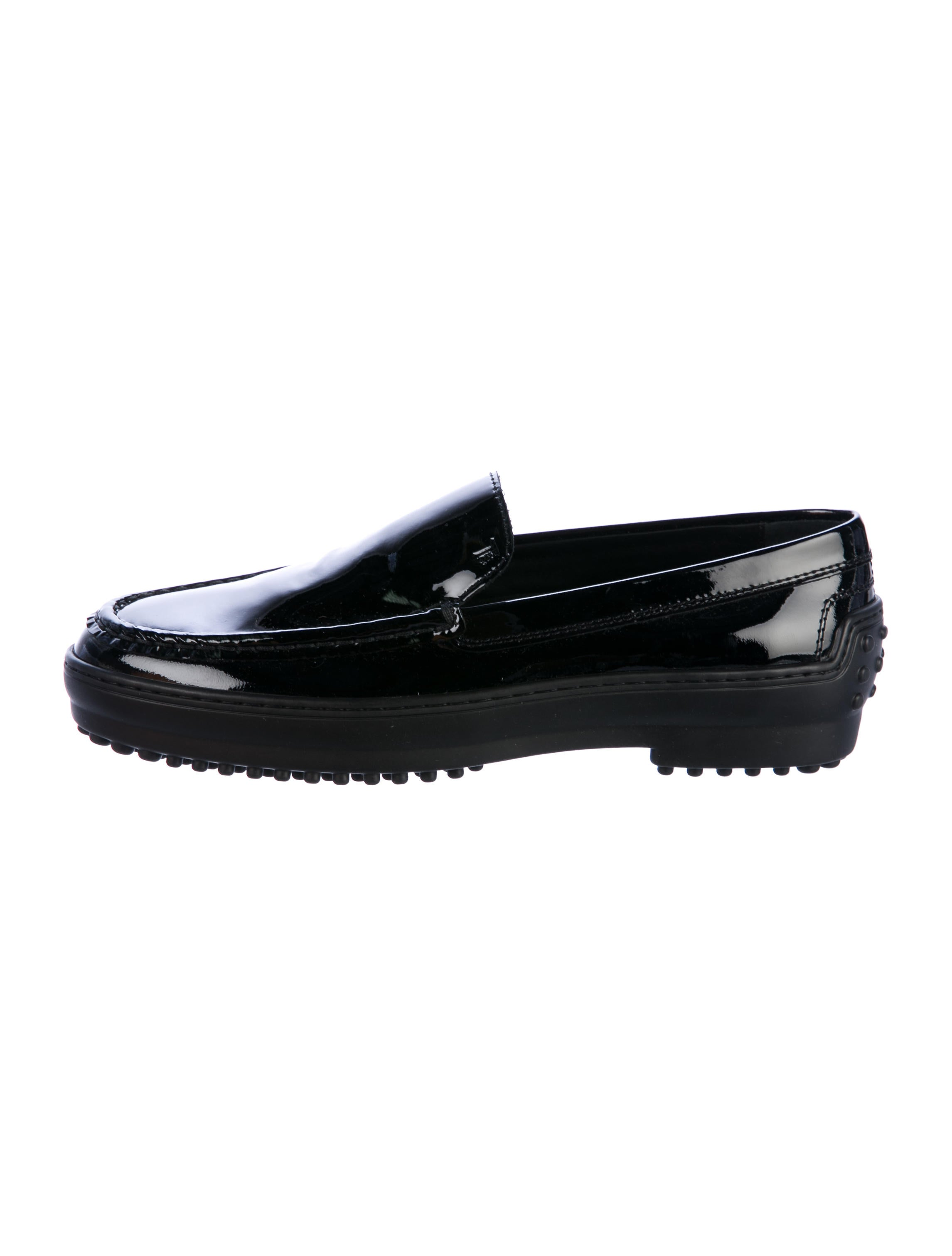 Tod's Patent Leather Semi-Rounded Loafers cheap for sale 2014 unisex cheap price discount new uG8R4z