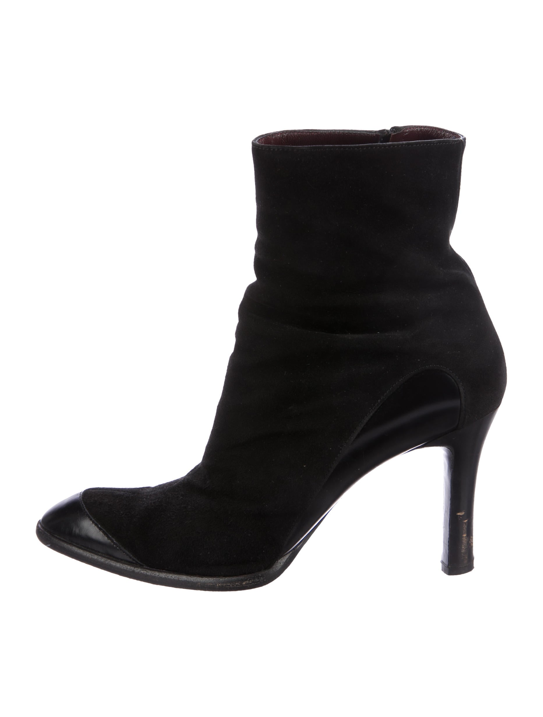 Tod's Suede Cap-Toe Ankle Boots cheap sale pick a best 100% original txhY5IRKs