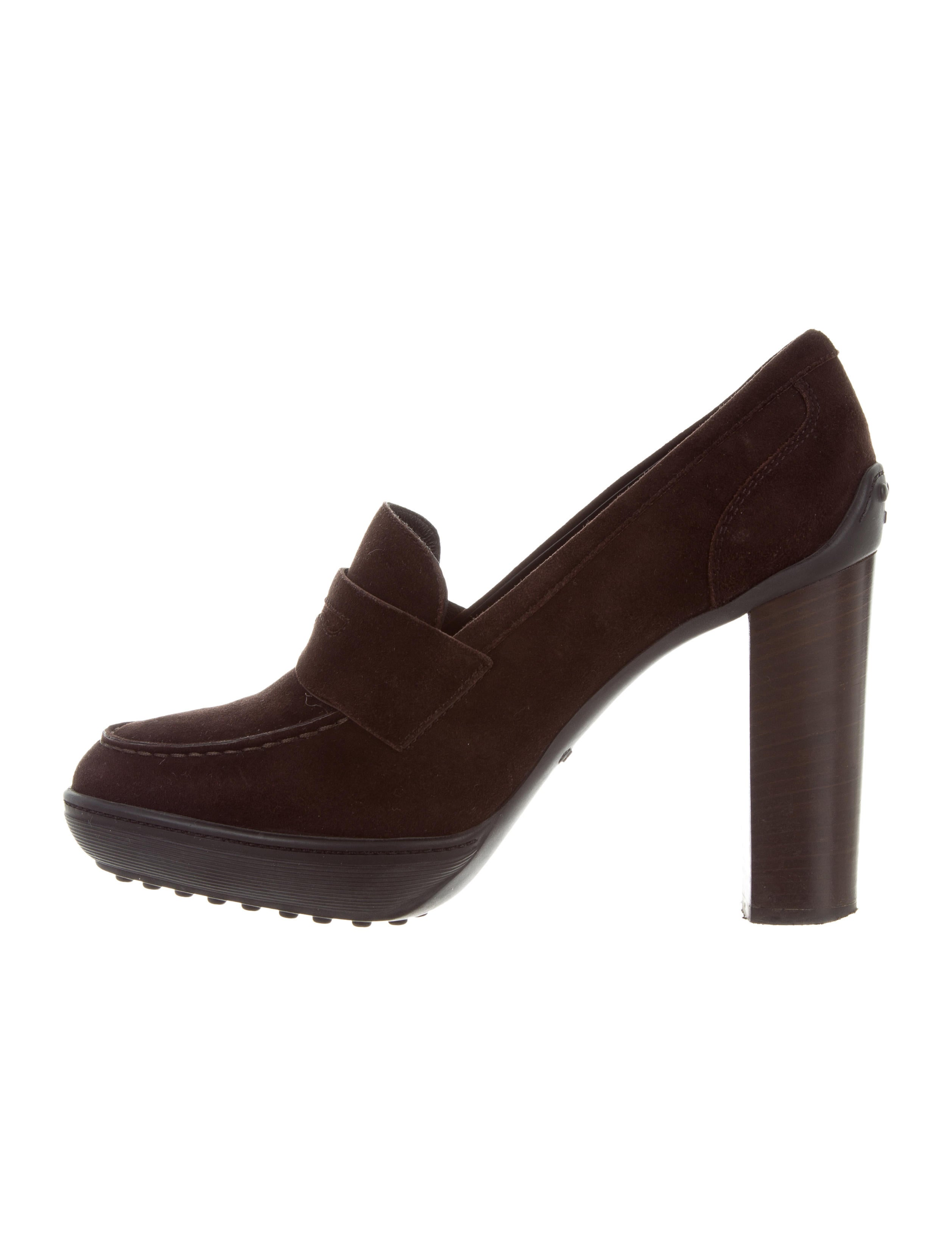 browse free shipping cheap quality Tod's Pointed-Toe Suede Pumps w/ Tags huge surprise cheap price clearance tumblr R54NWJA