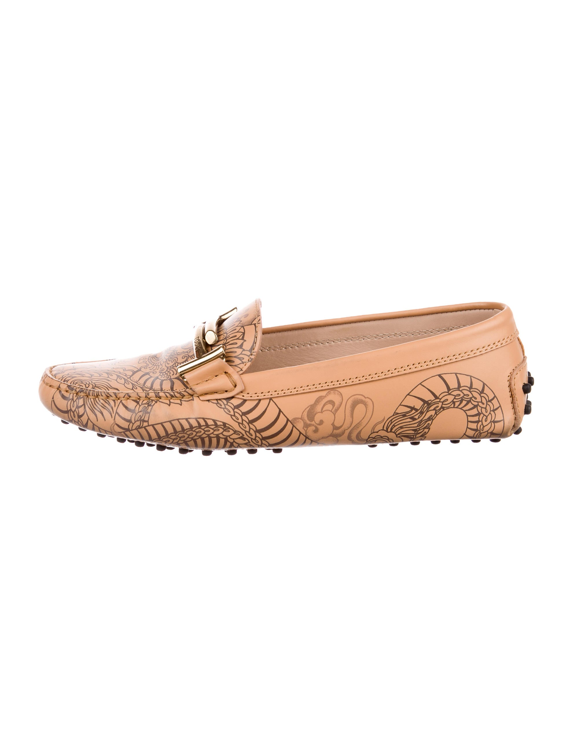 Tod's Leather Maxi Tattoo Loafers view cheap price jrIPm0PTH
