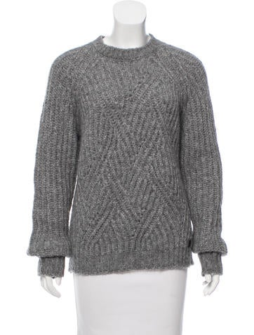 Tod's Ribbed Knit Sweater None