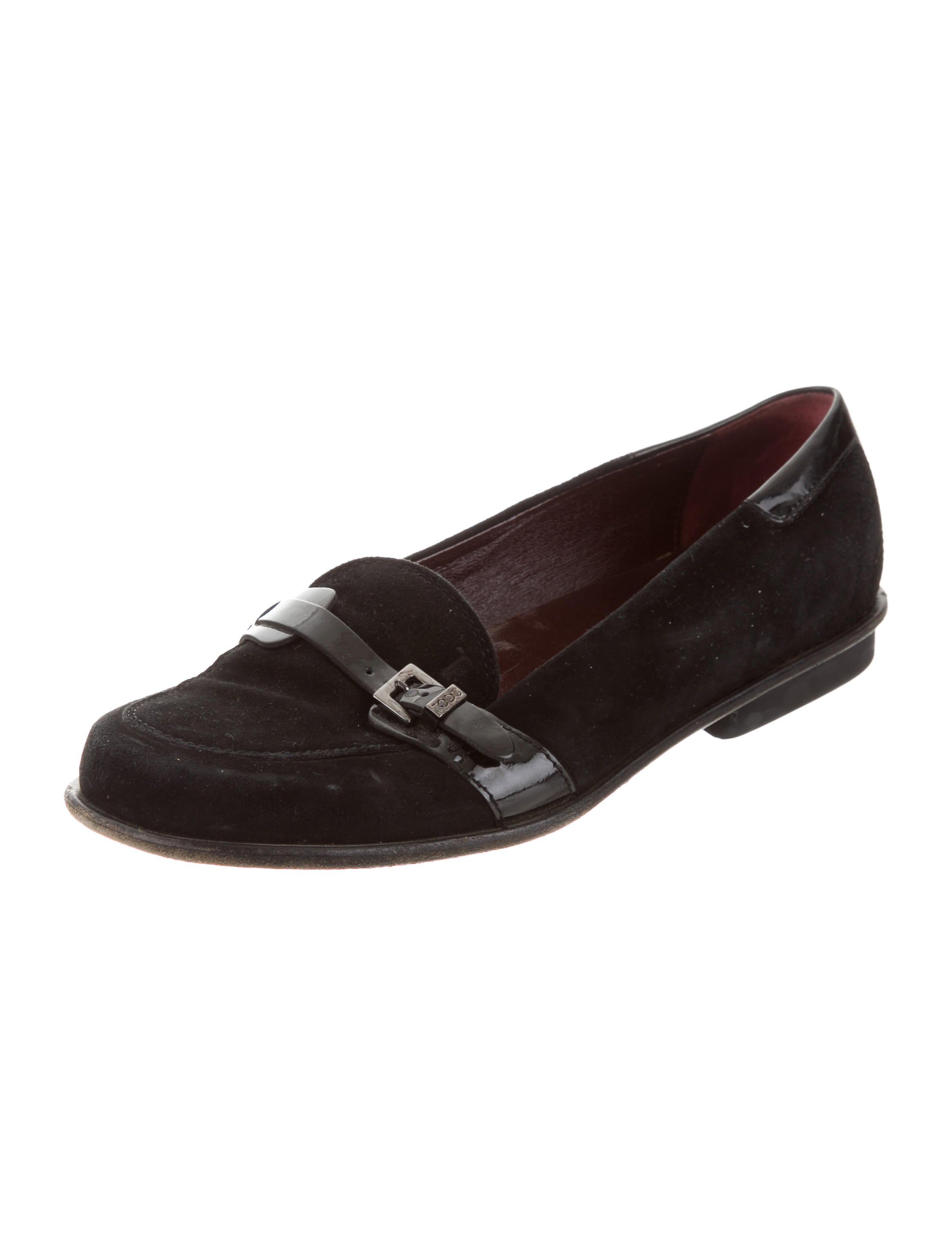free shipping low price Tod's Suede Buckle-Accented Loafers buy cheap sale cost cheap online sneakernews cheap online Inexpensive for sale fpc27636rb