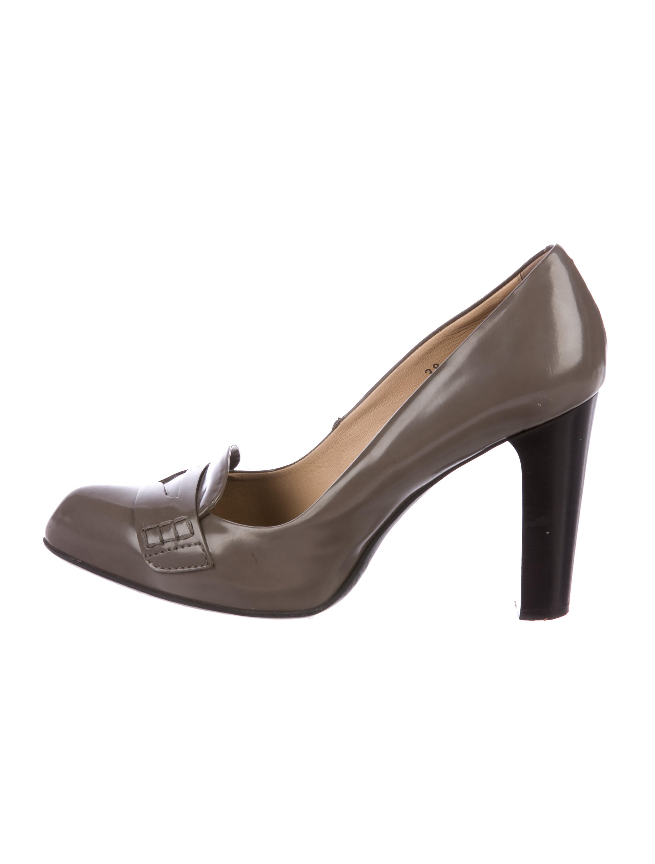 Tod's Leather Pointed-Toe Pumps affordable sale online looking for for sale tumblr for sale HXTqDz
