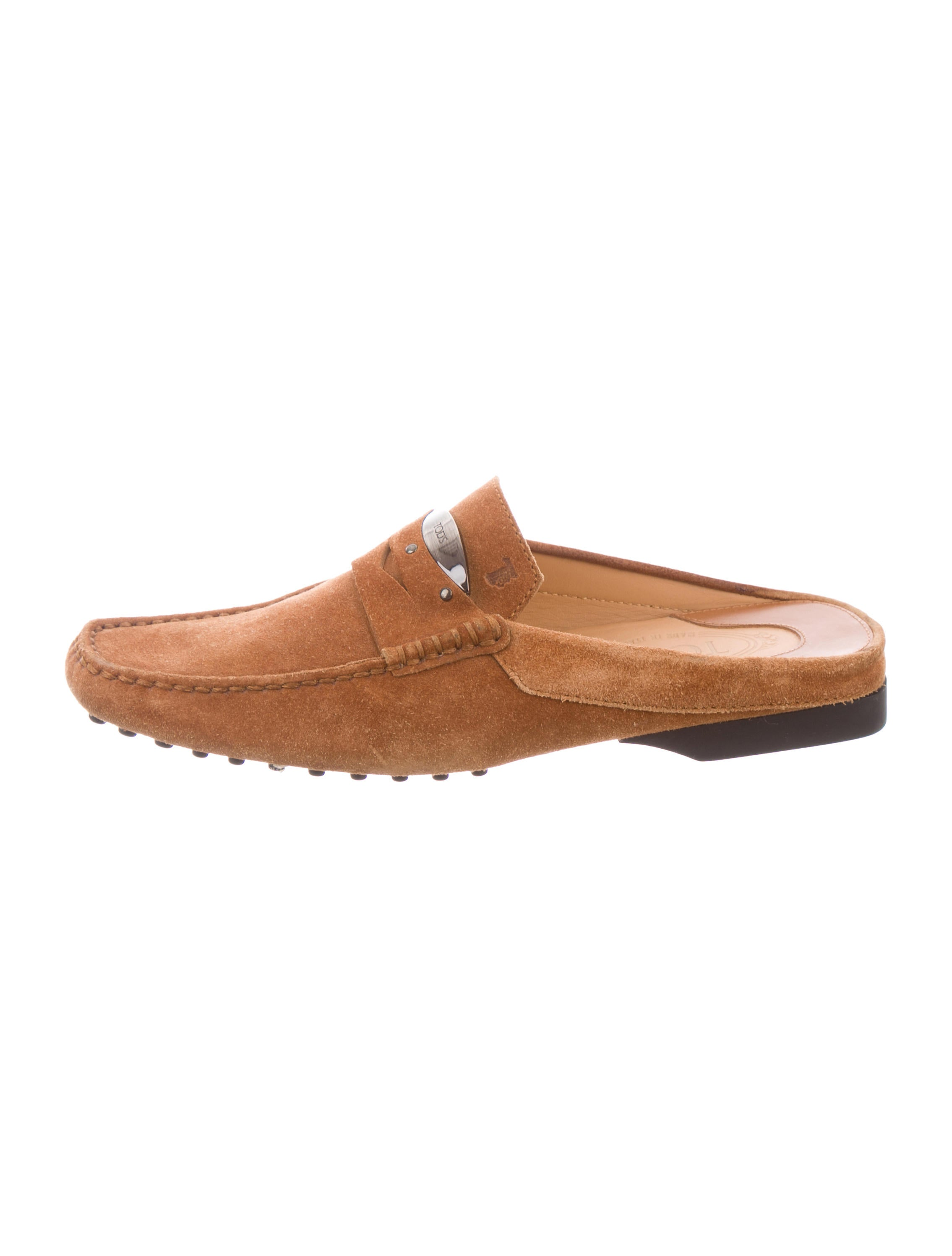 sale low shipping fee Tod's Square-Toe Loafer Mules cheap price buy discount many kinds of for sale eArjyRo6