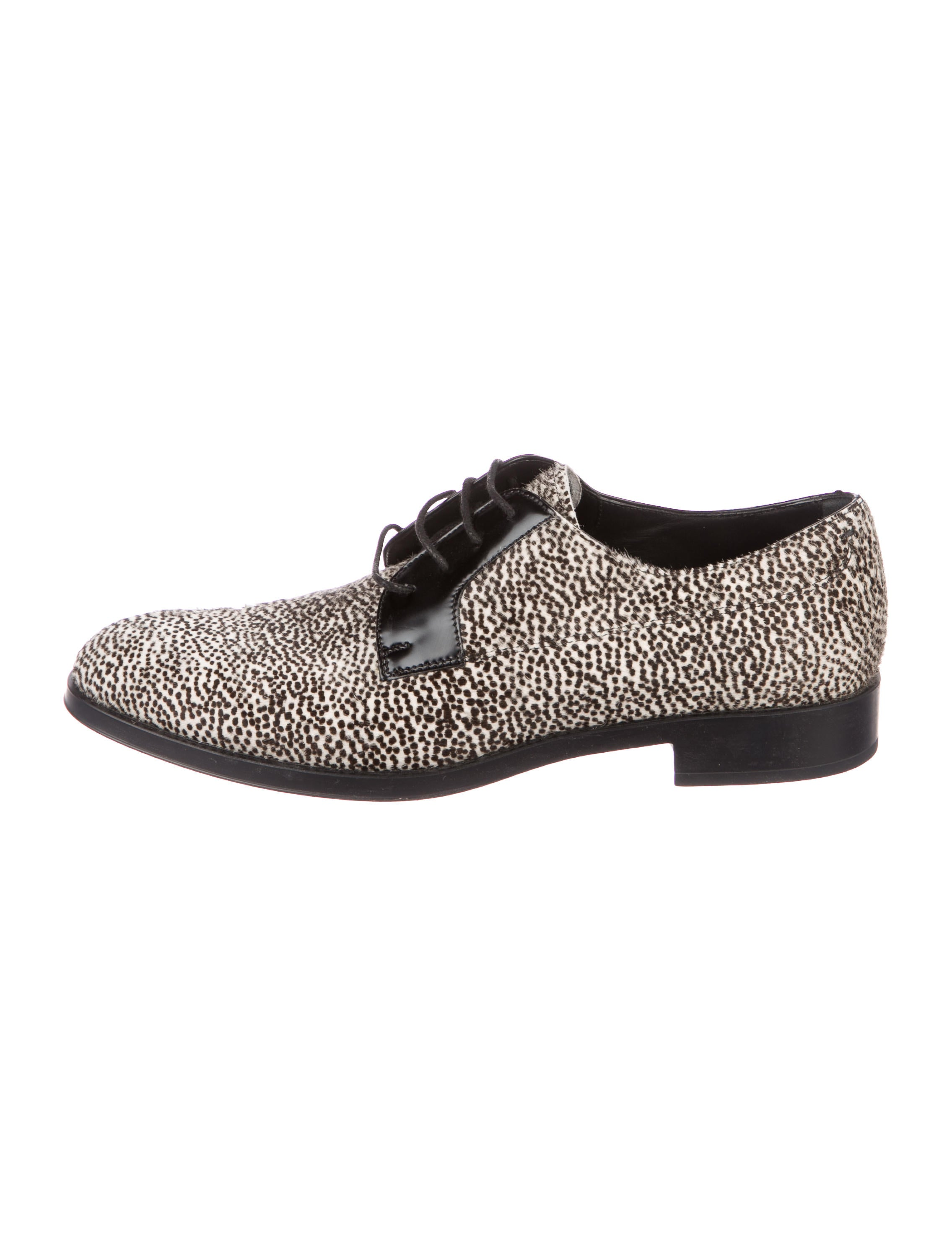 Tod's Printed Ponyhair Oxfords latest cheap price cheap best place buy cheap 2015 new PbWq82