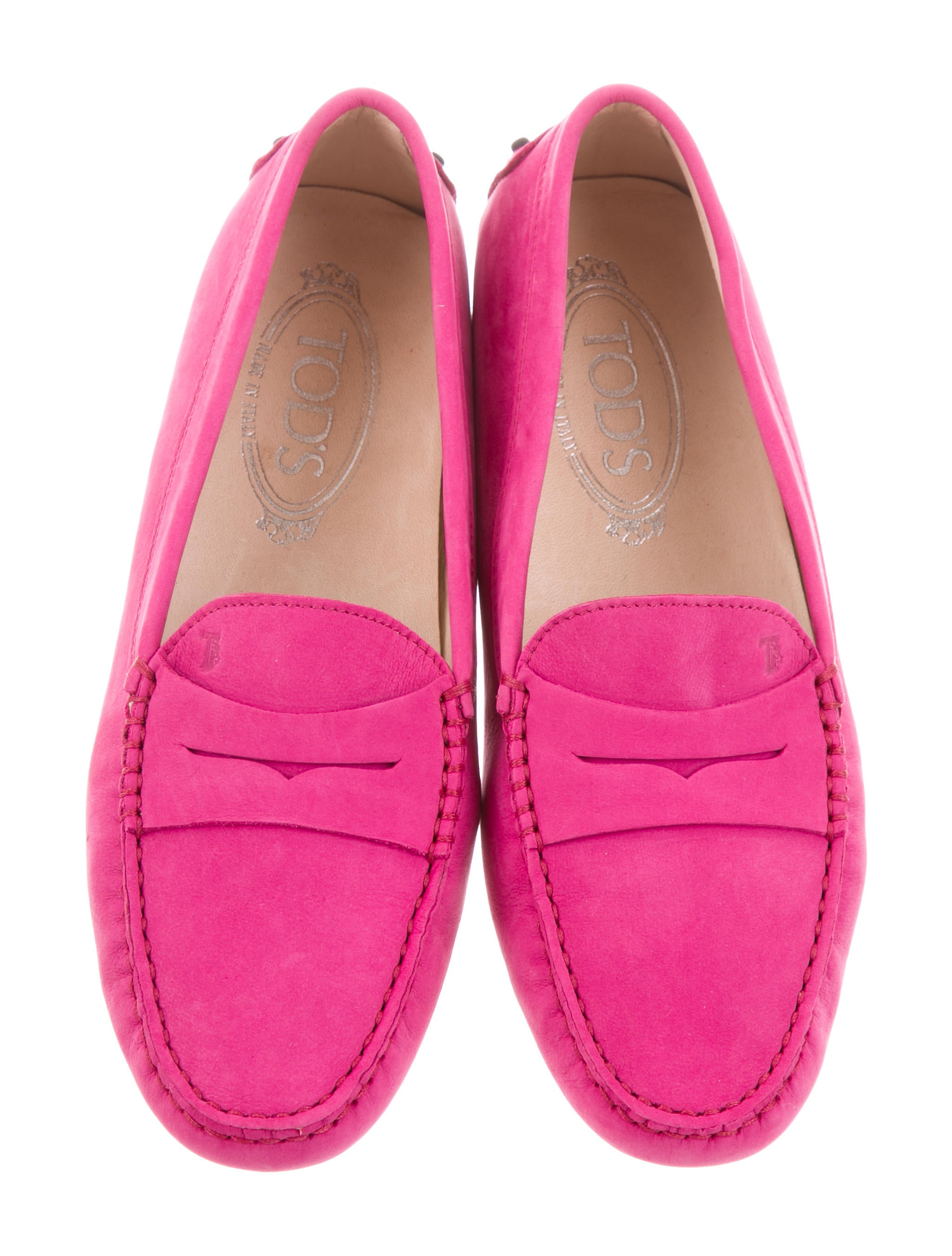 clearance cost Tod's Suede Round-Toe Flats w/ Tags outlet online shop sale cheap online low shipping fee sale online sale outlet LIsbIXpTs
