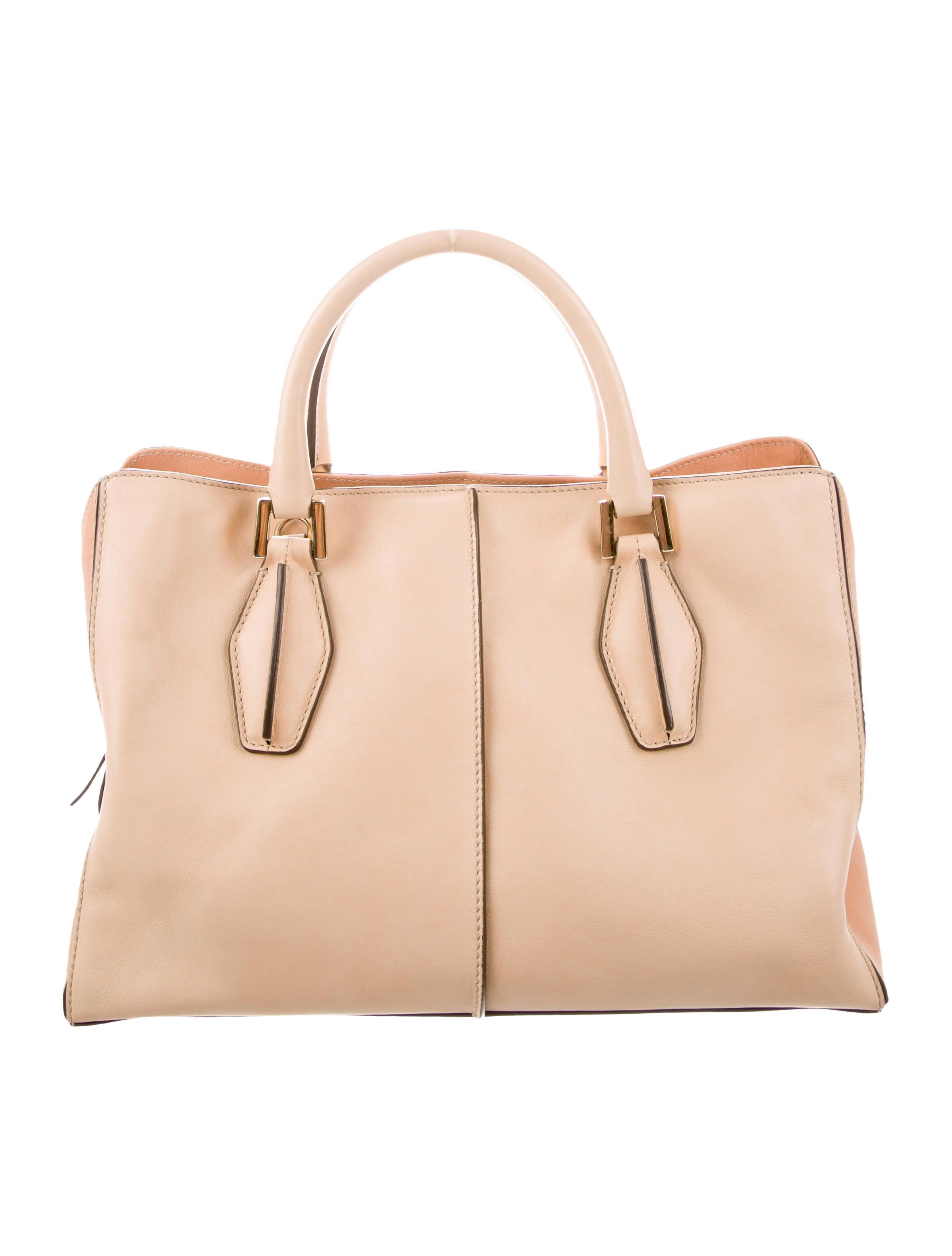 08d274c41c Tod s Leather Satchel Bag - Handbags - TOD59547
