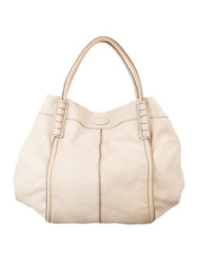 8065a3d4e0cf Tod s. Grained Leather Tote