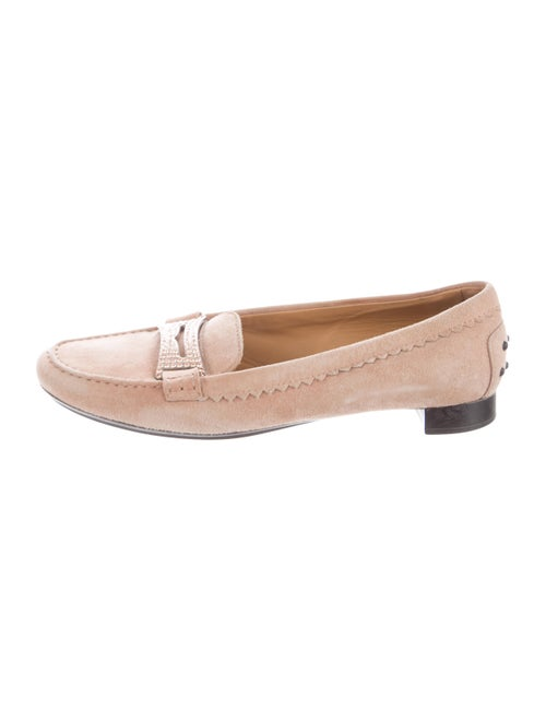 Tod's Embellished Penny Loafers