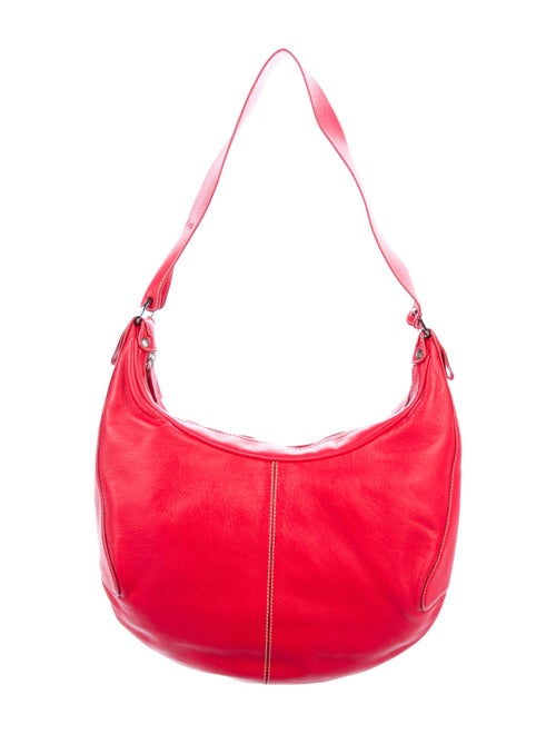 Tod's Leather Shoulder Bag Red
