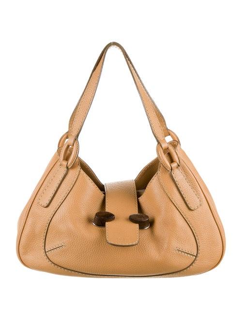 Tod's Leather Shoulder Bag Tan