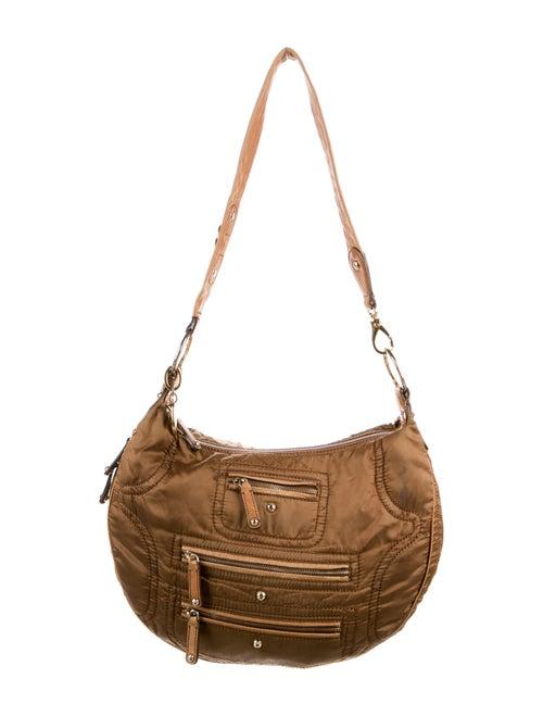 Tod's Nylon Shoulder Bag Brown