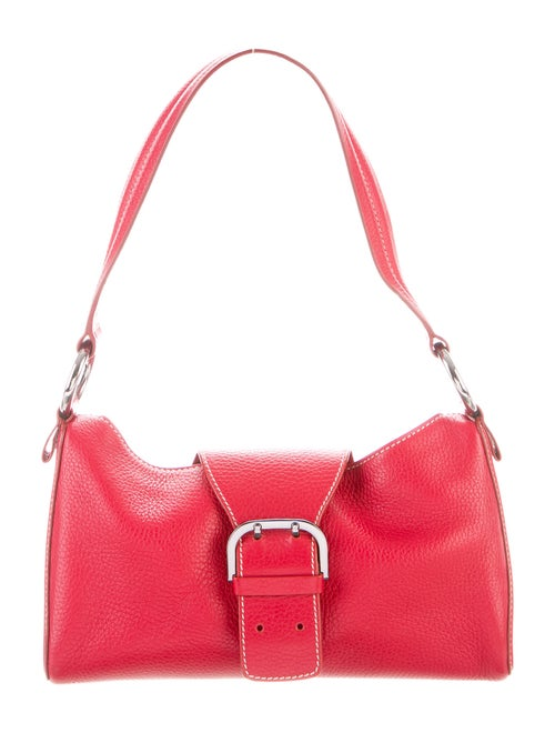 Tod's Leather Shoulder Bag Red