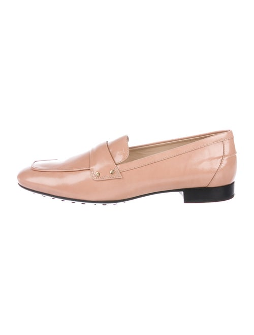 Tod's Leather Loafers Pink