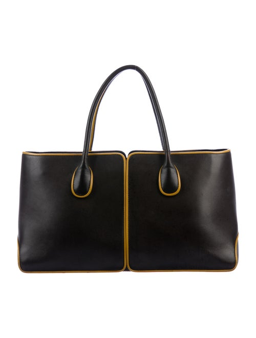 Tod's Leather Tote Brown