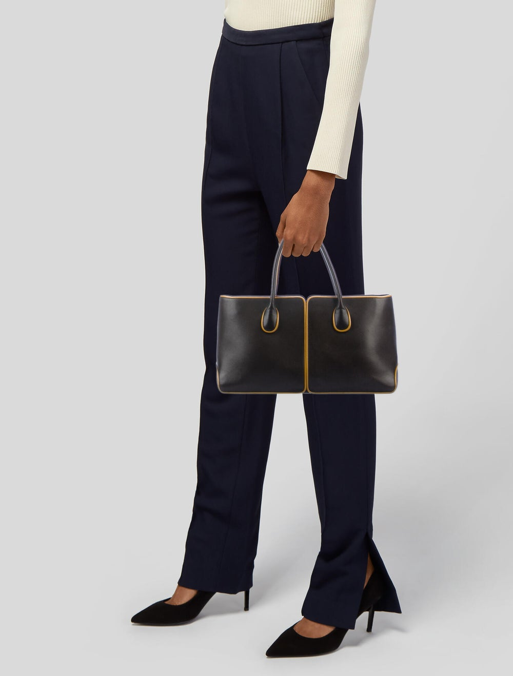 Tod's Leather Tote Brown - image 2