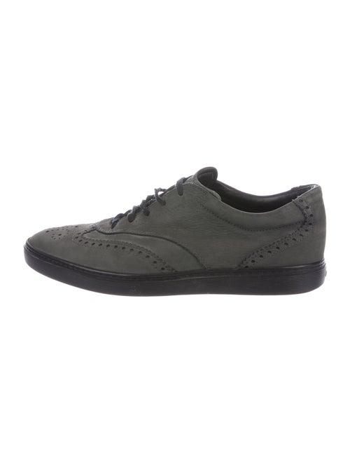 Tod's Nubuck Sneakers Green - image 1