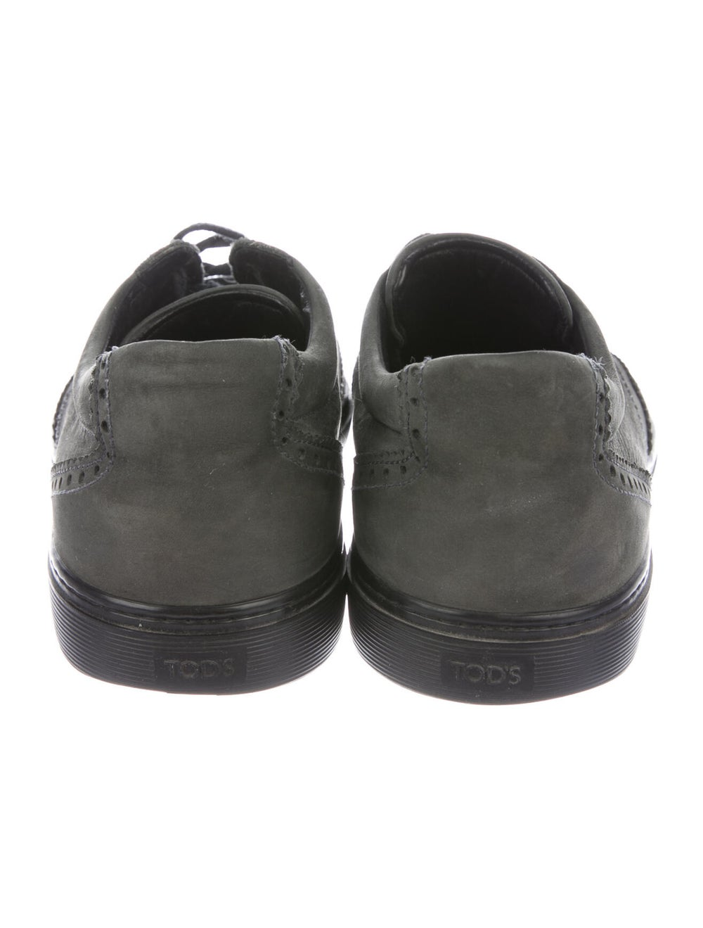 Tod's Nubuck Sneakers Green - image 3