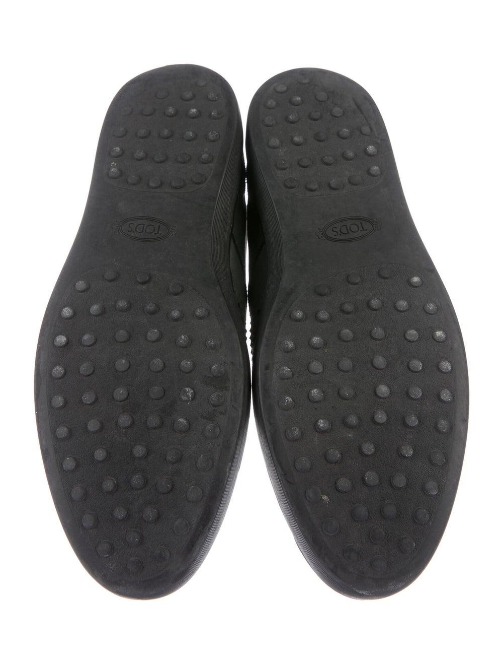 Tod's Nubuck Sneakers Green - image 4