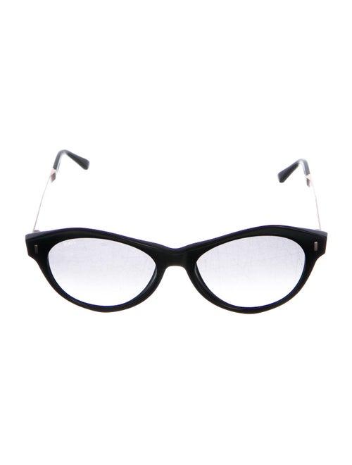 Tod's Cat-Eye Gradient Sunglasses Black