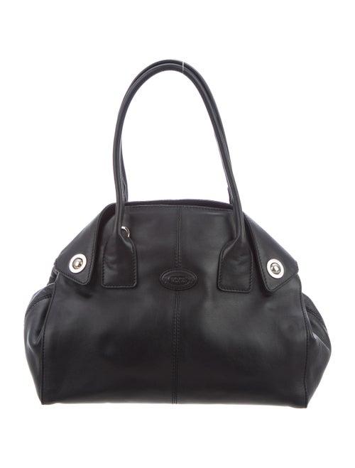 Tod's Leather Satchel Bag Black