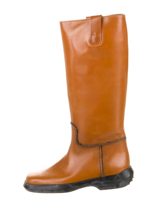 Tod's Leather Boots Brown