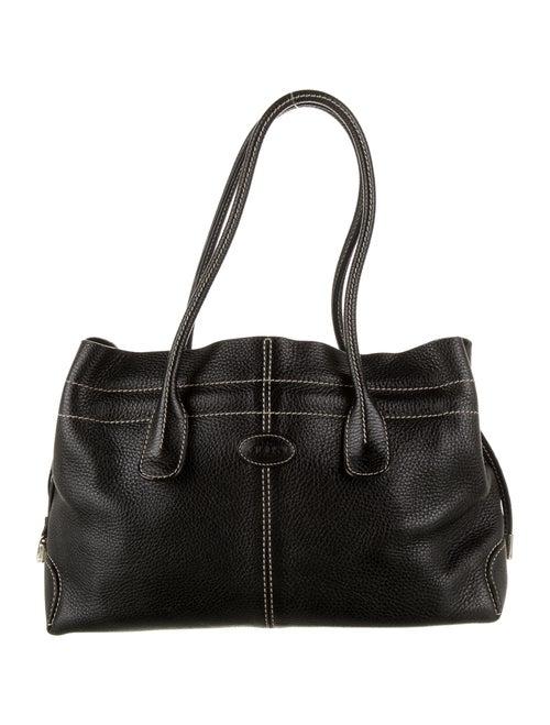 Tod's Leather Shoulder Bag Black