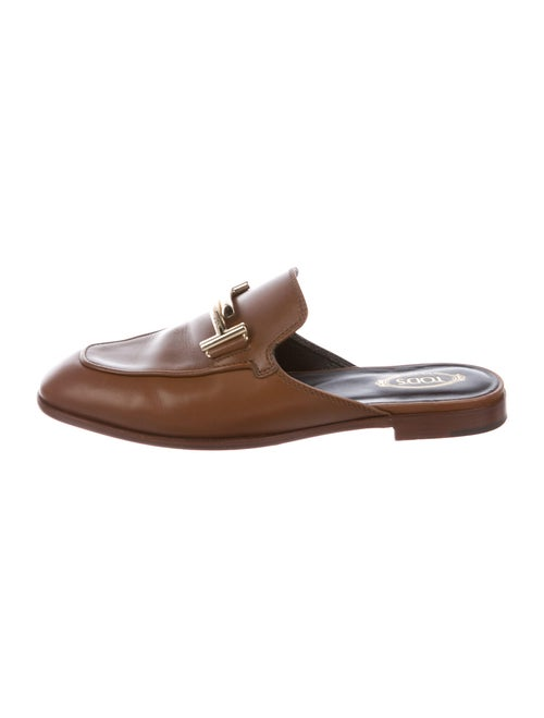 Tod's Leather Mules Brown