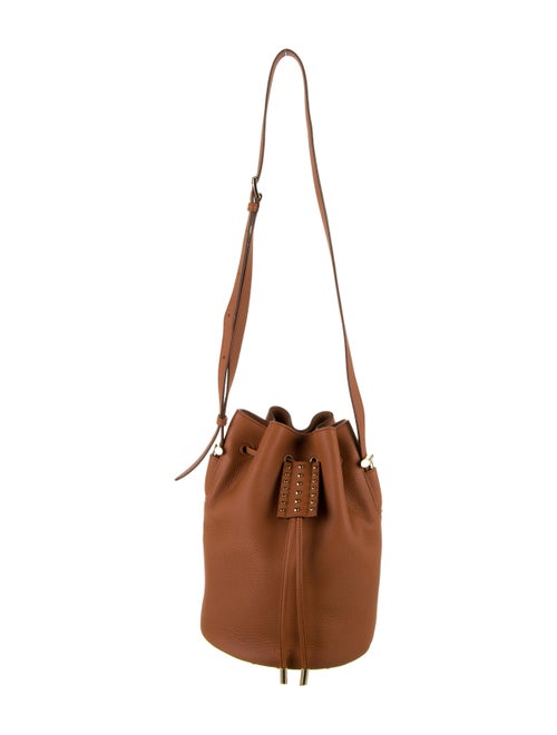 Tod's Leather Bucket Bag Brown