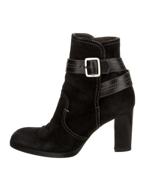 Tod's Leather Boots Black