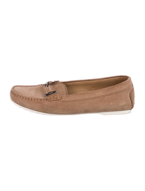 Tod's Suede Moccasins Brown