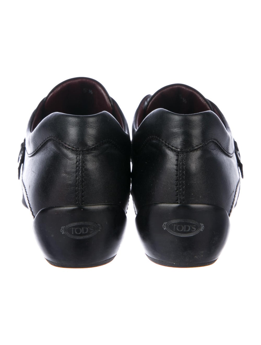 Tod's Leather Loafers Black - image 4