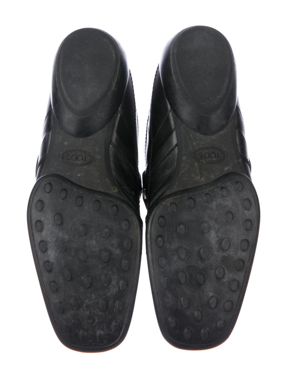 Tod's Leather Loafers Black - image 5